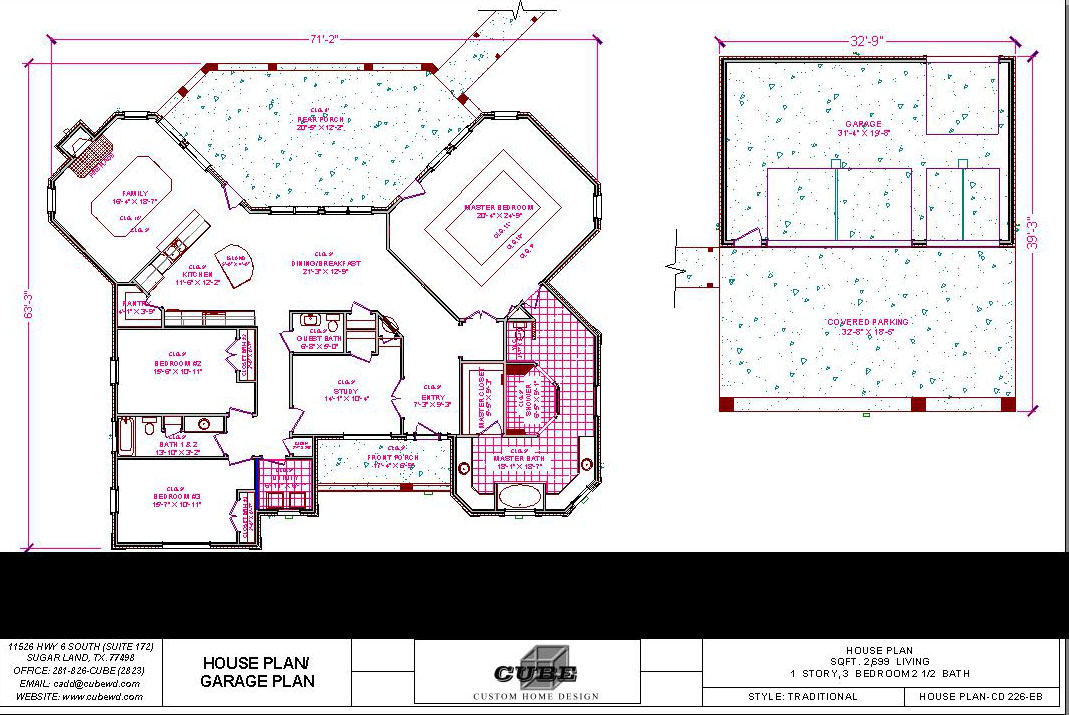HOUSE PLAN-CD 226-7
