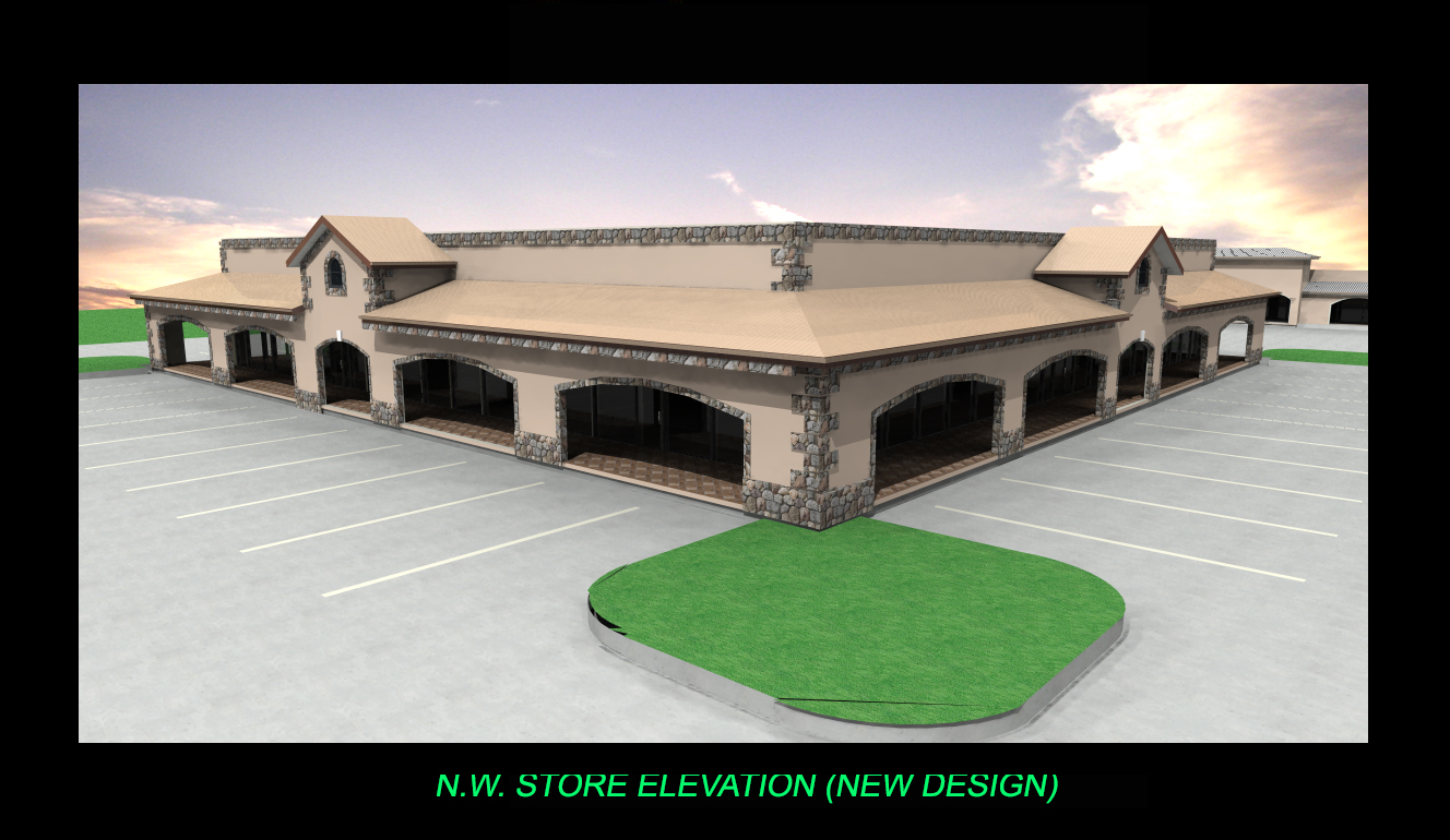 FRONT STORE ELEVATION-4