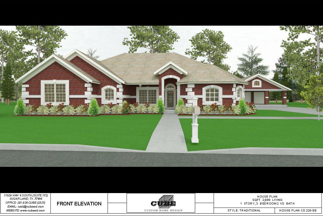 HOUSE PLAN-CD 226-3