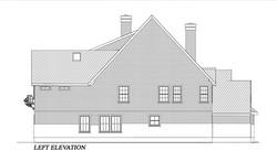 HOUSE PLAN-CD-LFT ELEVATION