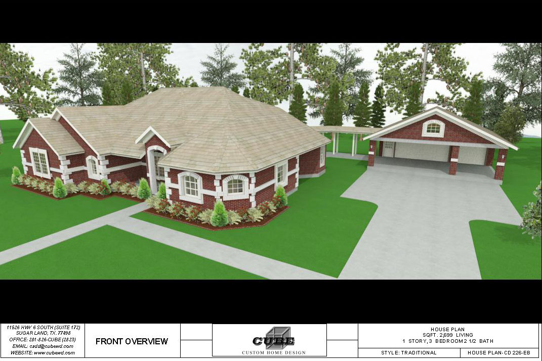 HOUSE PLAN-CD 226-2