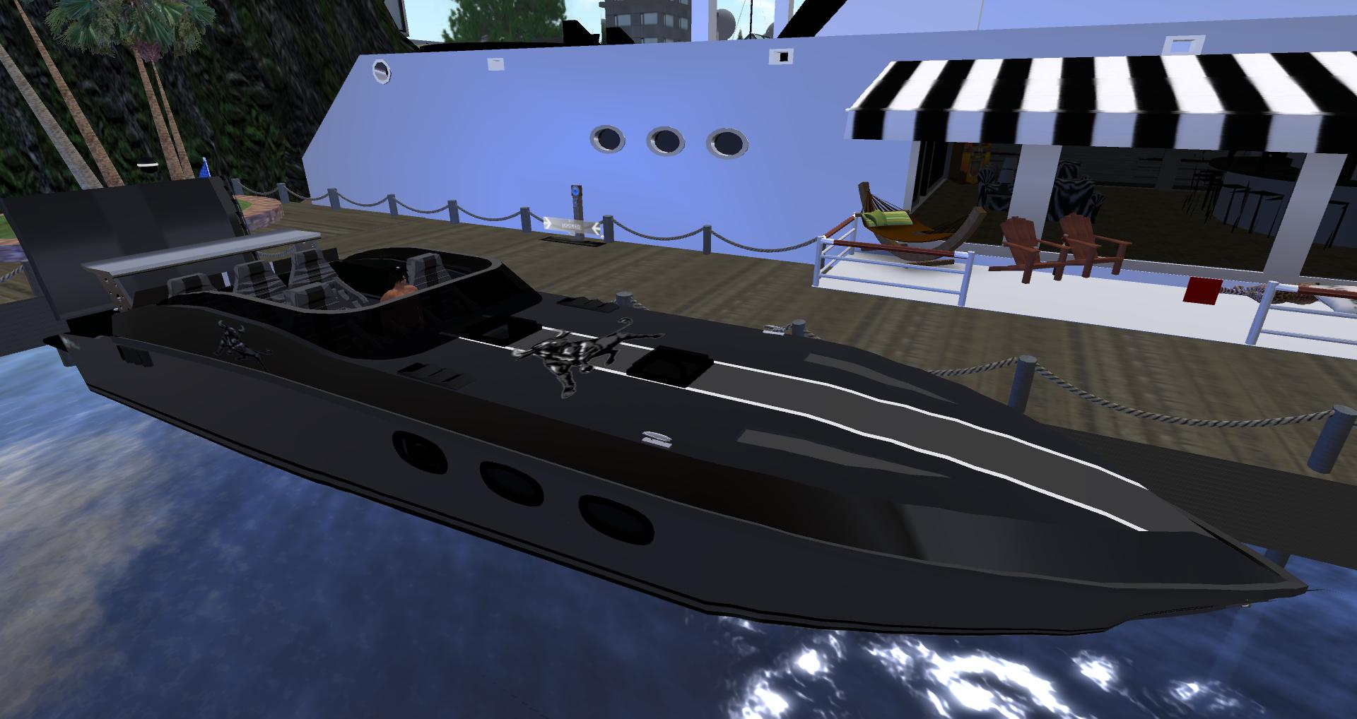 3D-POWER BOAT