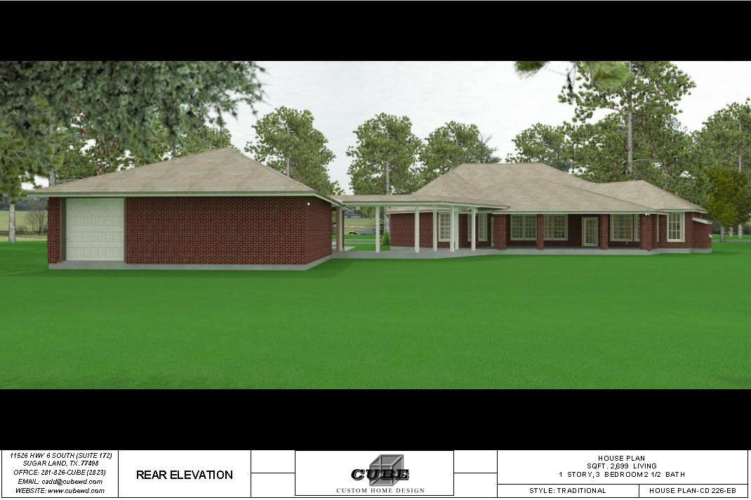 HOUSE PLAN-CD 226-5