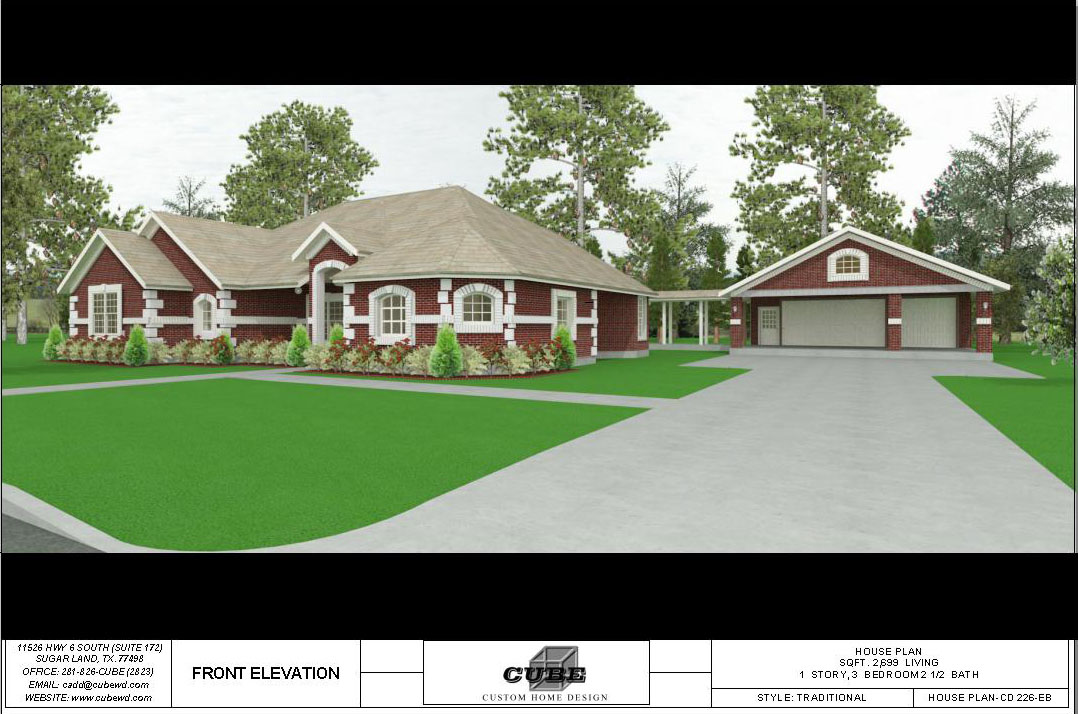 HOUSE PLAN-CD 226-4