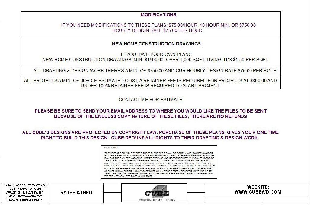 HOUSE PLAN-CD 226-9