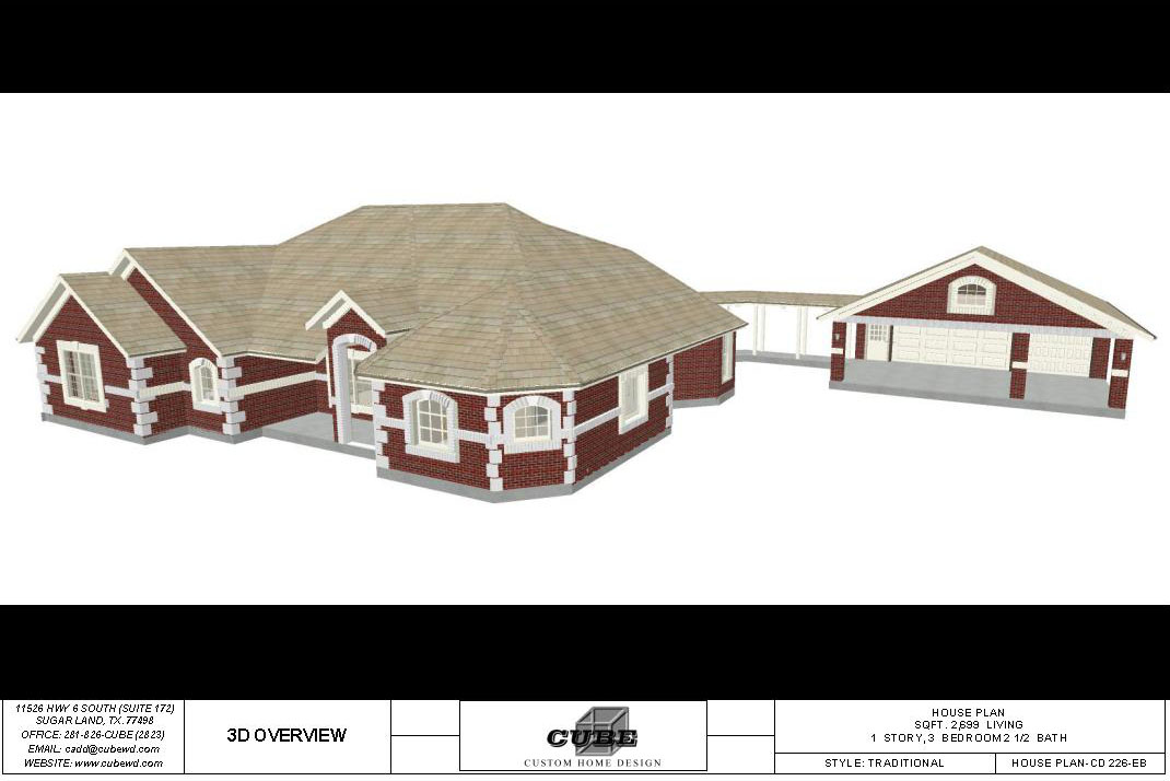 HOUSE PLAN-CD 226-1