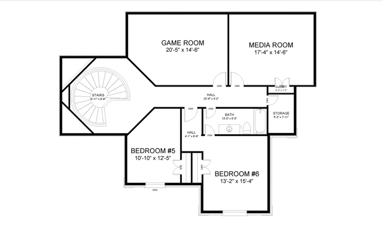 CCHD-005 FLOOR PLAN LV2