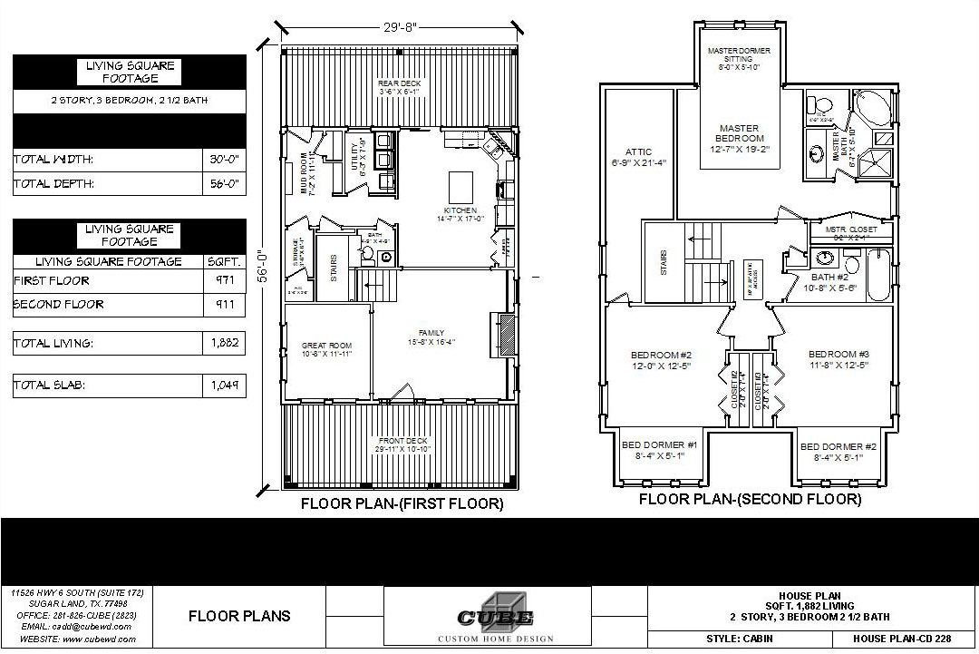HOUSE PLAN-CD-228-4