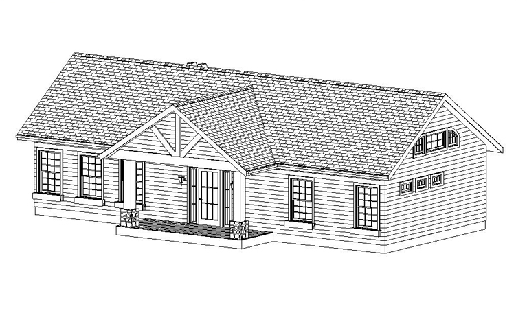 HOUSE PLAN-TH01-FRNT OVERVIEW