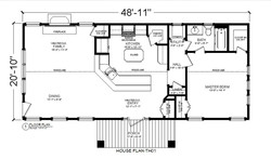 HOUSE PLAN-TH01-FOOR PLAN