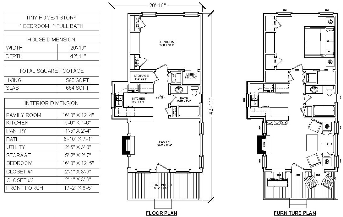 HOUSE PLAN-TNY-01-FLOOR PLAN
