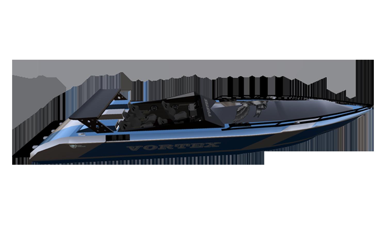 VORTEX-BLUE BOAT
