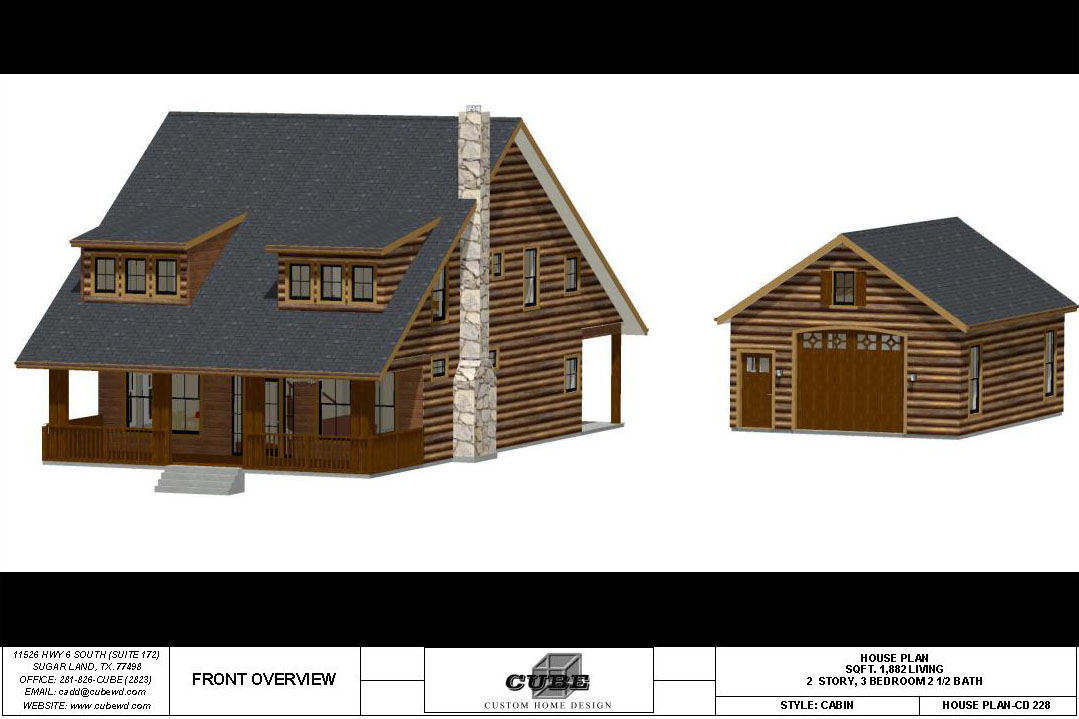 HOUSE PLAN-CD-228-1