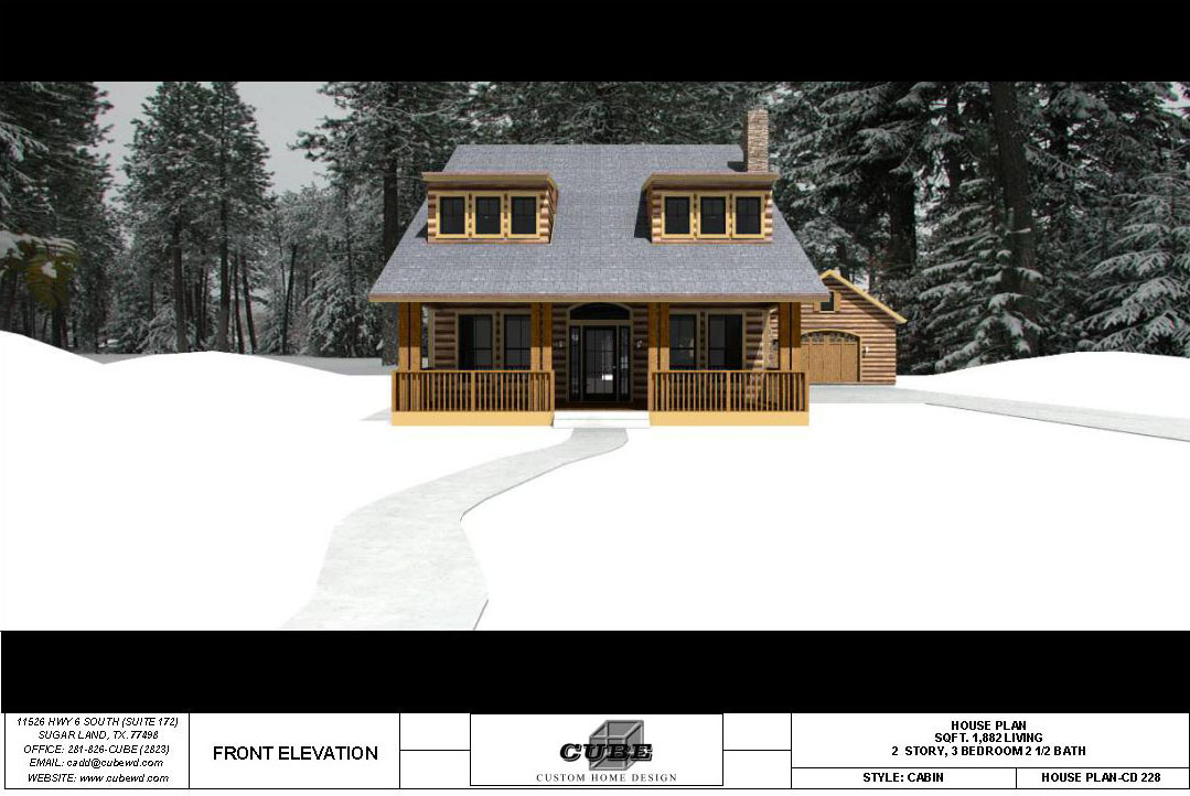 HOUSE PLAN-CD-228-3