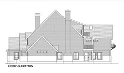 HOUSE PLAN-CD-RHT ELEVATION