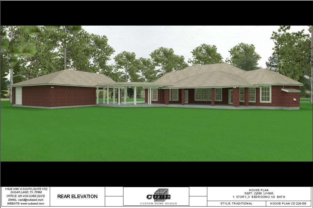 HOUSE PLAN-CD 226-6