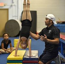 tumbling acrobatics training