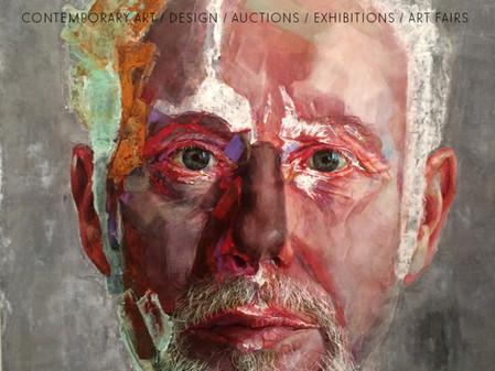 Piet van den Boog in December issue Art Market Magazine