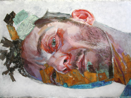 Piet van den Boog color-drenched portraits grand in scale and intensity