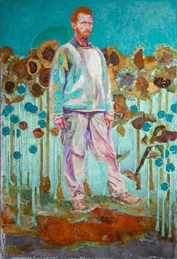 Vincents Walk Through the Sunflower Fiel