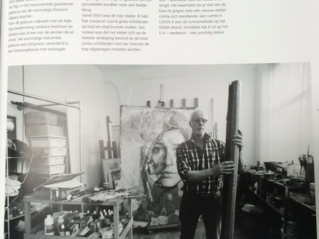 """Studios: 90 portraits of artists"""