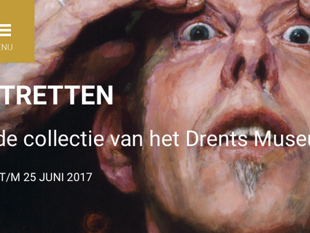 """Exhibition """"Self-portraits"""" at Drents Museum from September 2016 to June 2017"""