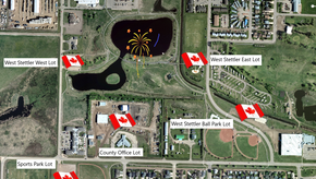 Town of Stettler To Host Canada Day Fireworks Display