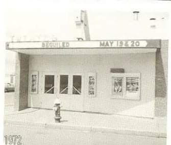 Beguiled plays at the theatre in 1972