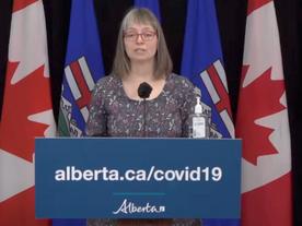 Update 201: COVID-19 pandemic in Alberta (video & audio)