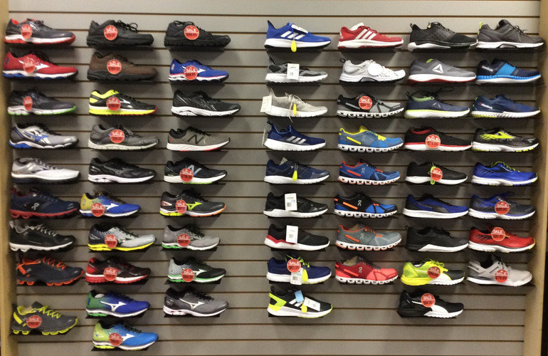 Every kind of athletic shoe