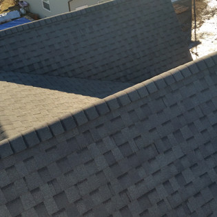 Complicated roof lines
