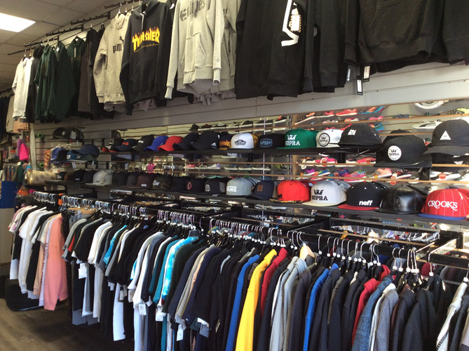 Hoodies, tees, hats and more
