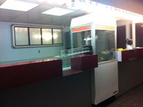 Old counter and concession area