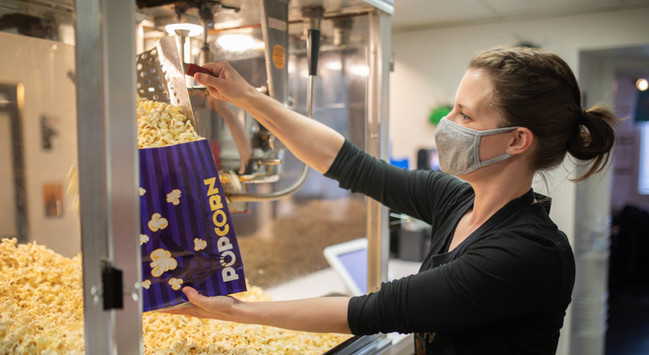 Best popcorn in Alberta!