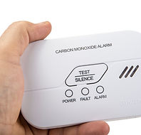 Carbon monoxide alarm for safe sleep on