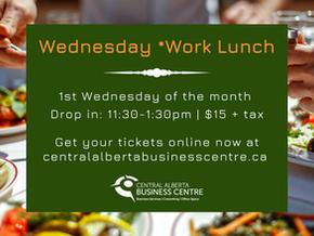 Wednesday *Work Lunch