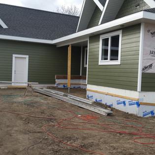 New James Hardie Plank siding