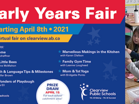Clearview virtual Early Years Fair 2021