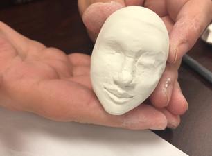 Jasper Tate teaches sculpture for Alberta Culture Days