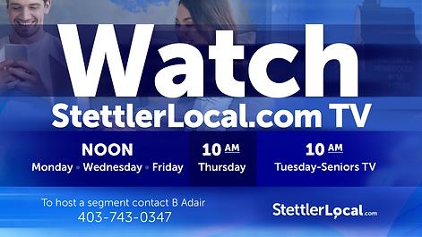 stettler news TV