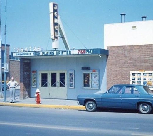 High Plains Drifter on the marquee 1973