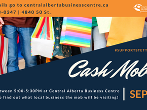 Support our local business community and have some fun at the September 16th Cash Mob!
