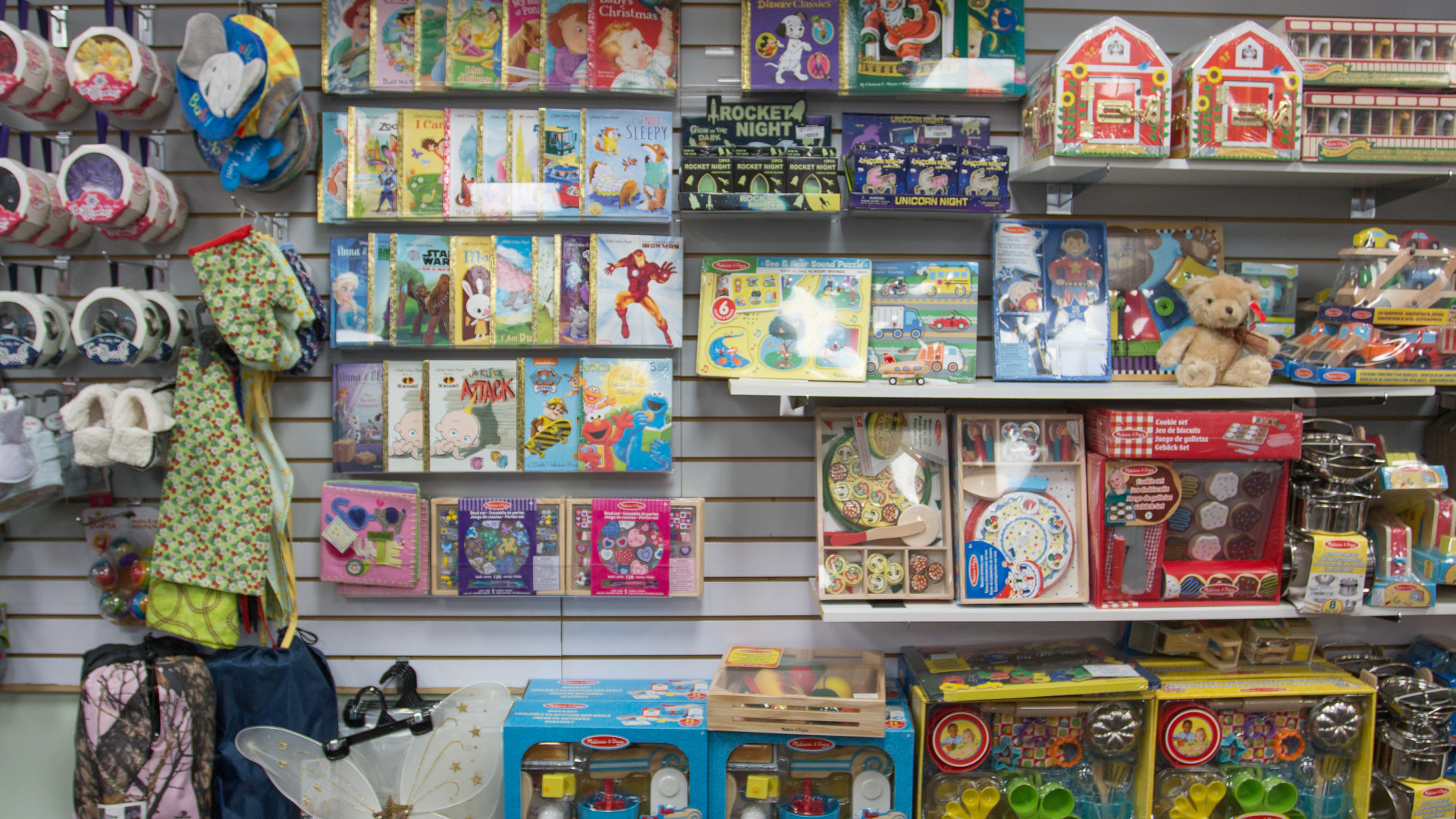 Books & toys they'll love