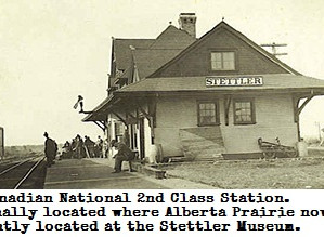 The History of Canadian Northern coming to Stettler