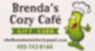 Brenda's Cafe Gift Card
