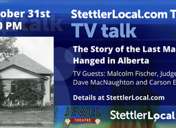 October 31st  - The Last Man Hanged in Alberta