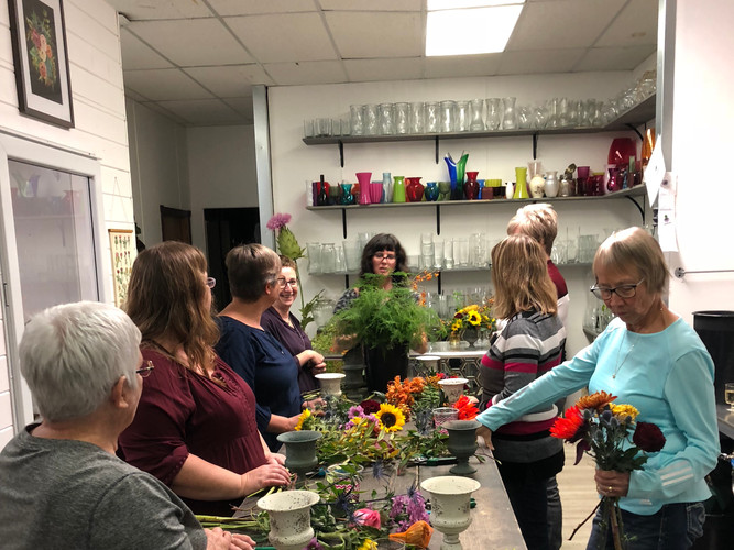 Seasonal Workshops are a big hit.