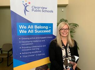 Clearview Honours Cindy Zimmerman as 2020 Clearview Star Award Winner
