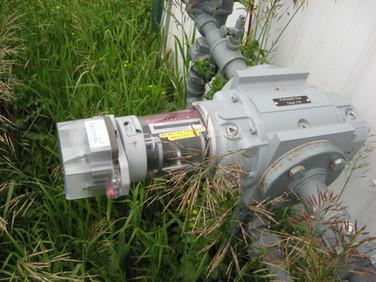 Large industrial meter