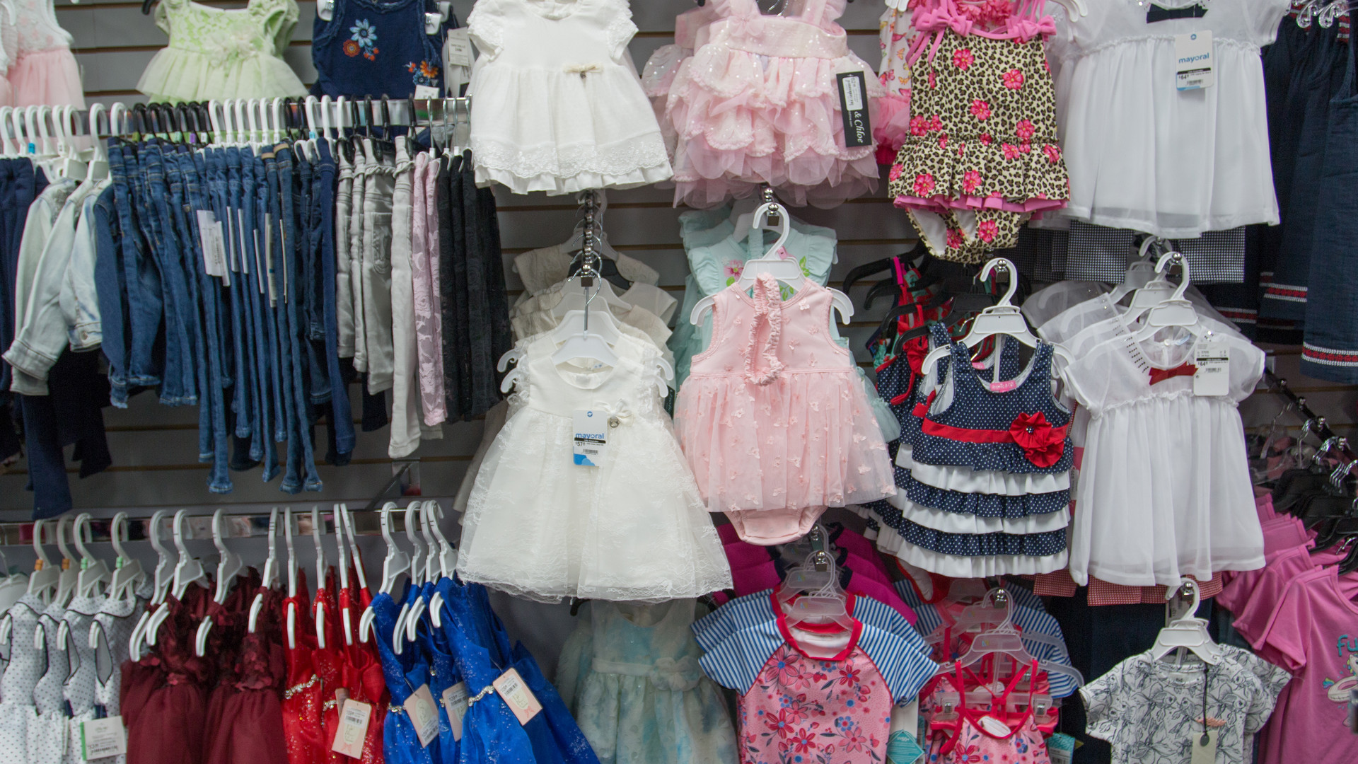 Beautiful clothes for all the littles